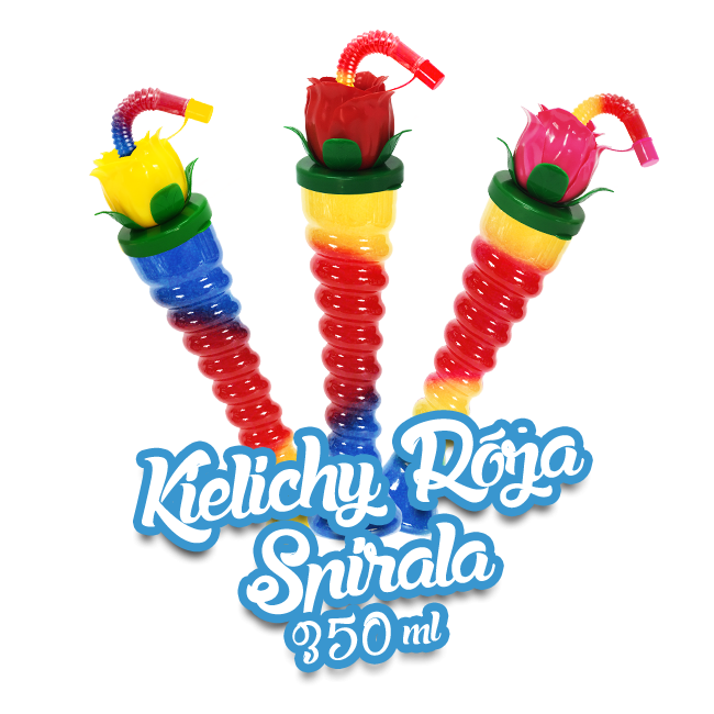 Kielich do granity Róża - Spirala 350ml / 161 szt.