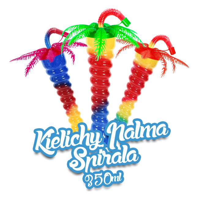 Kielich do granity Palma - Spirala 350ml / 170 szt.