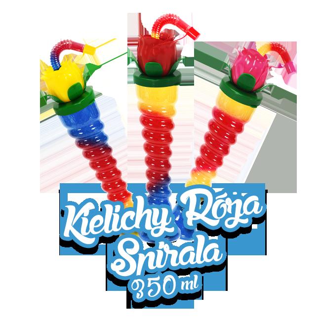 Kielich do granity Róża - Spirala 350ml / 161 szt.