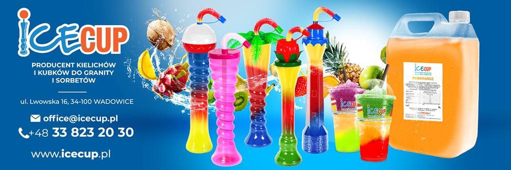 IceCup - výrobca pohárov, šáliek, sirupov pre granitu a sorbety